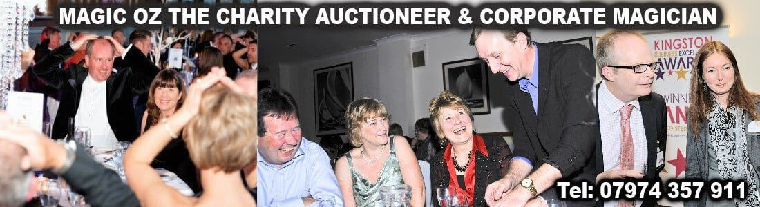 Charity Auctioneer & Corporate Events